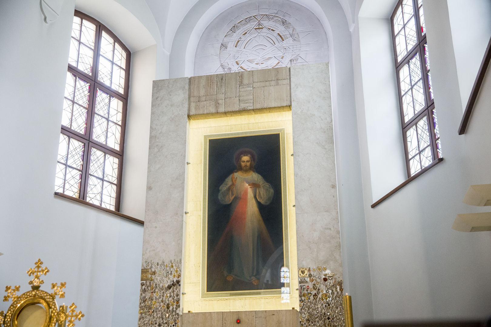 lieknėjimo šventovė miesto centre