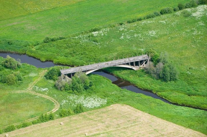 """""""Tiltas į niekur"""" Latvijoje"""