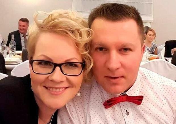 Mikolajus Wilkas su žmona Elžbieta