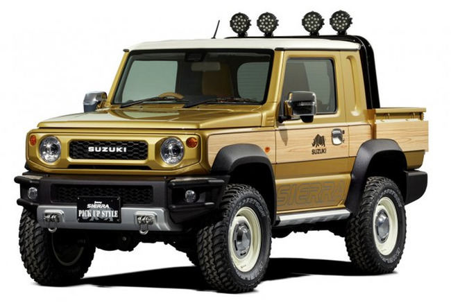 """Suzuki Jimny Sierra"""
