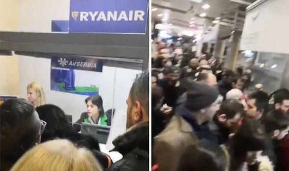 Keleiviai Rumunijos oro uoste