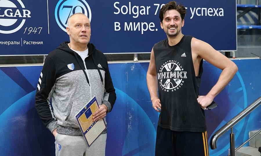 2019 m. Rimas Kurtinaitis ir Aleksejus Švedas