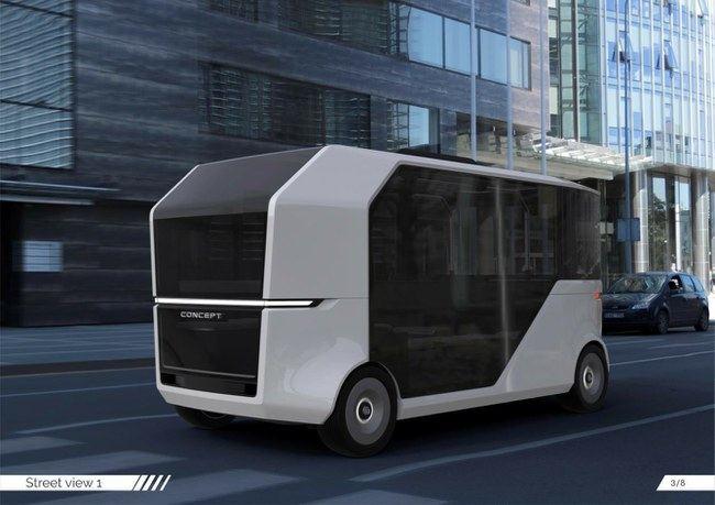 Autobuso koncepcinis modelis