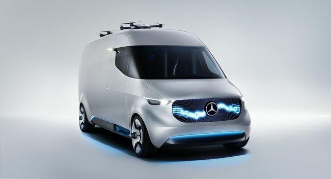 """Taip elektrinis """"Mercedes-Benz Sprinter"""" įsivaizduotas dar 2017 metais"""
