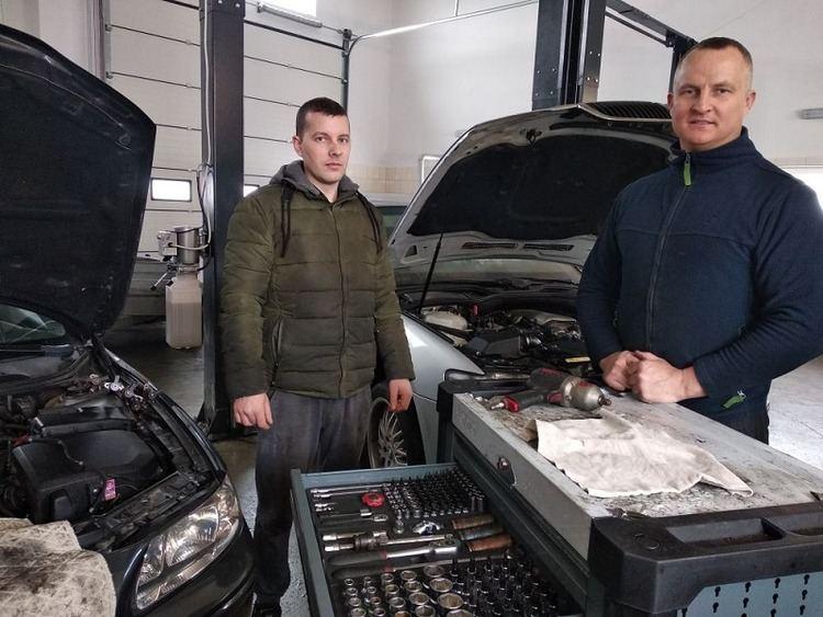 Gražvydas Vitkus ir Darius Masaitis