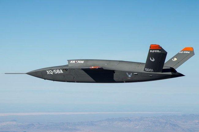 """""""XQ-58A Valkyrie"""""""