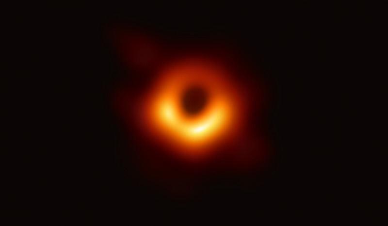 Galaktikos M87 branduolio nuotrauka
