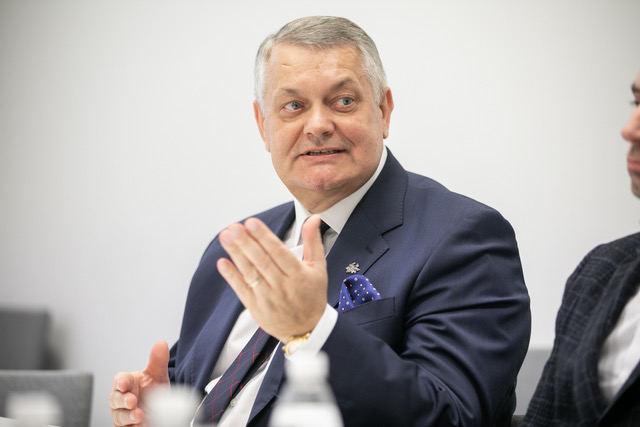 """R.Austinskas """"Linavos"""" nariams pristatė asociacijos viziją"""