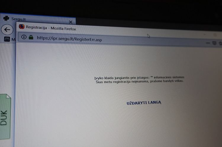 Sugedo elektroninė sveikatos priežiūros sistema Tauragėje