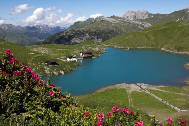 Ciurso ežeras netoli Lecho
