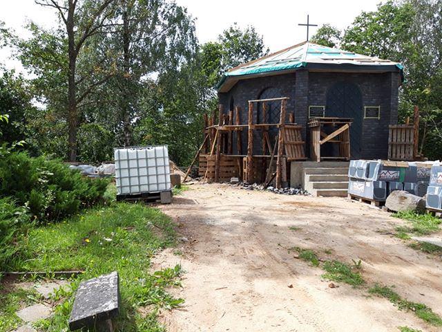 Betygalos kapinėse statoma privati koplyčia-kolumbariumas