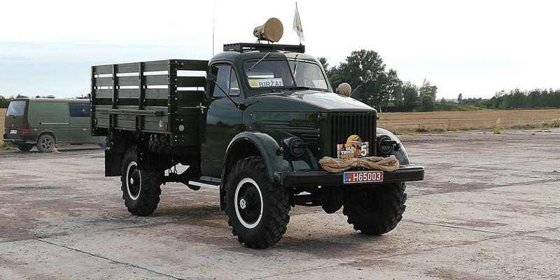 Istorinių sunkvežimių suvažiavimas 2019
