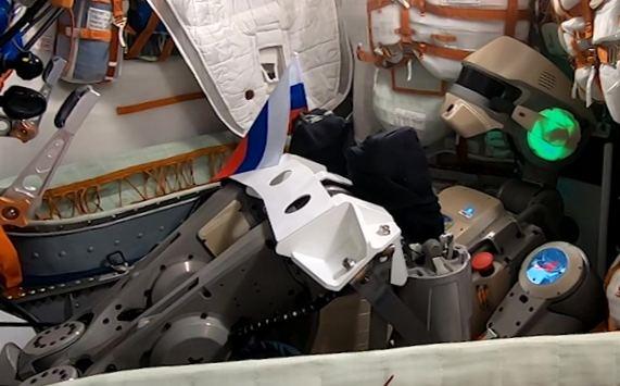 Rusija pasiuntė į kosmosą savo pirmąjį robotą FEDOR