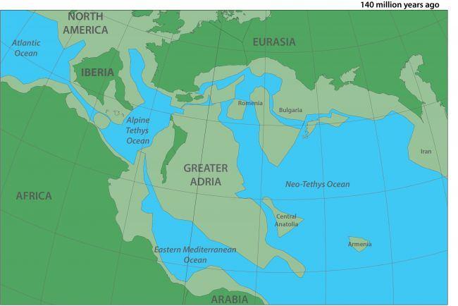 Taip Žemė galėjo atrodyti prieš 140 mln. metų