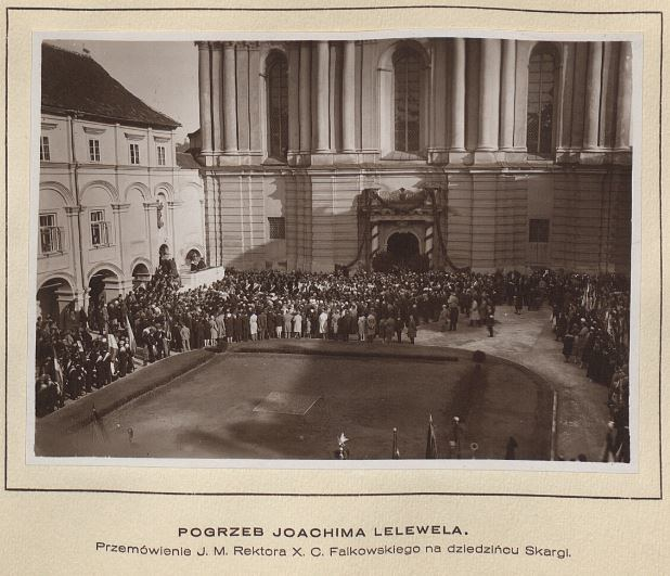 Joachimo Lelevelio laidotuvės Vilniuje