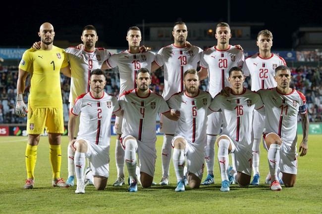 Serbijos futbolo rinktinė