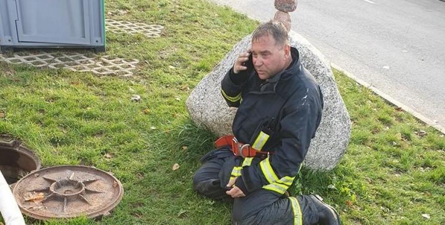 Alytaus apskrities priešgaisrinės gelbėjimo valdybos viršininkas Algirdas Bautronis