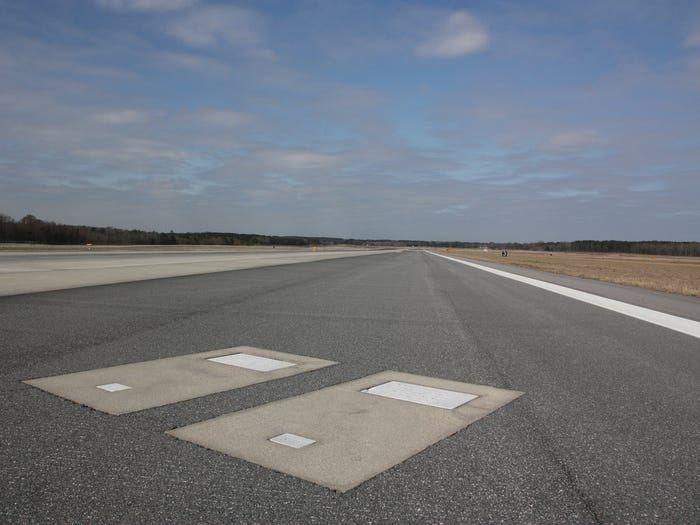 Kapavietės Savanos oro uosto aerodrome