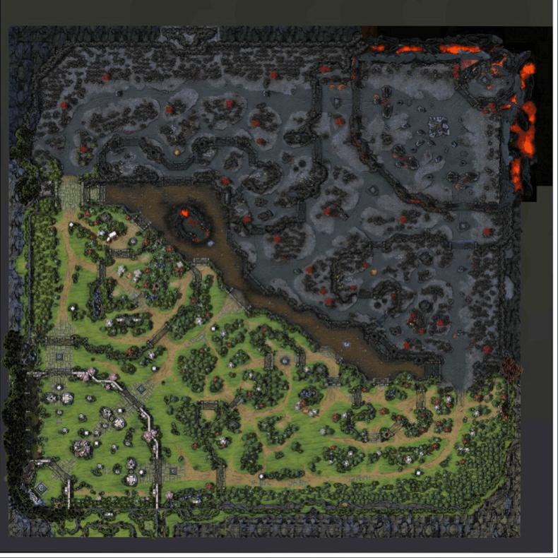 DOTA 2 žemėlapis
