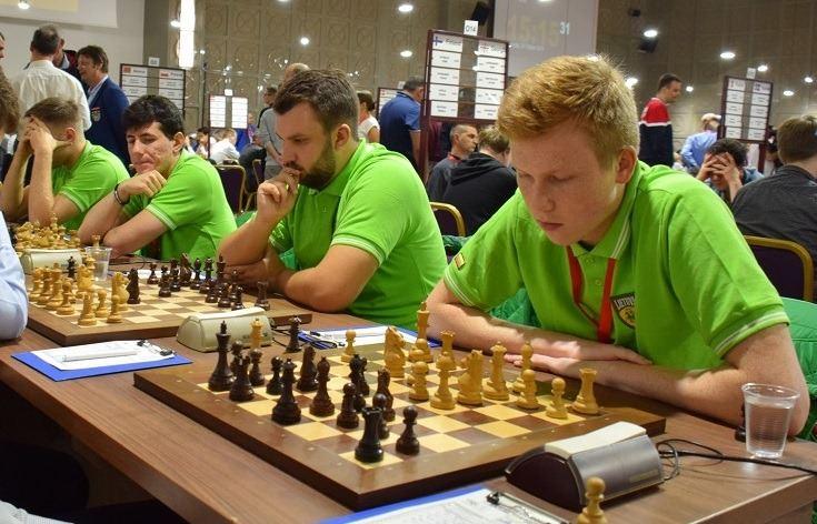 Lietuvos šachmatų rinktinė.
