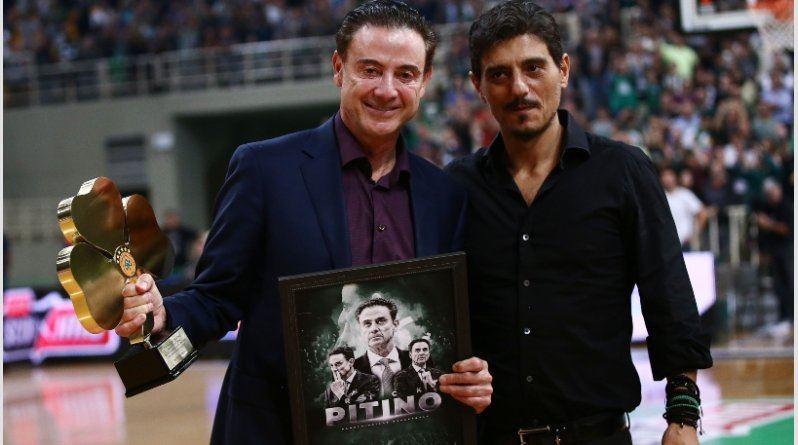 Rickas Pitino ir Dimitris Giannakopoulos