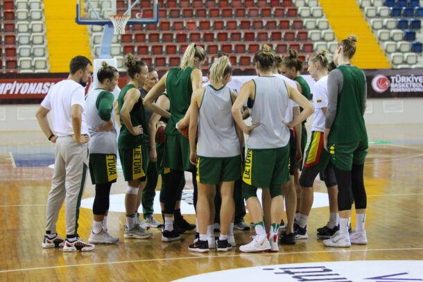 Lietuvos moterų krepšinio rinktinė Turkijoje