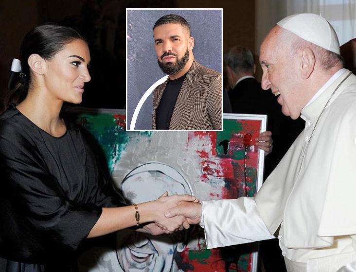 Sophie Brussaux su popiežiumi Pranciškumi, reperis Drake'as
