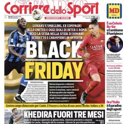 """Corriere dello Sport"" viršelis"