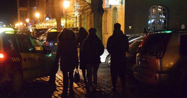 Gyvenimas naktinėje Klaipėdoje