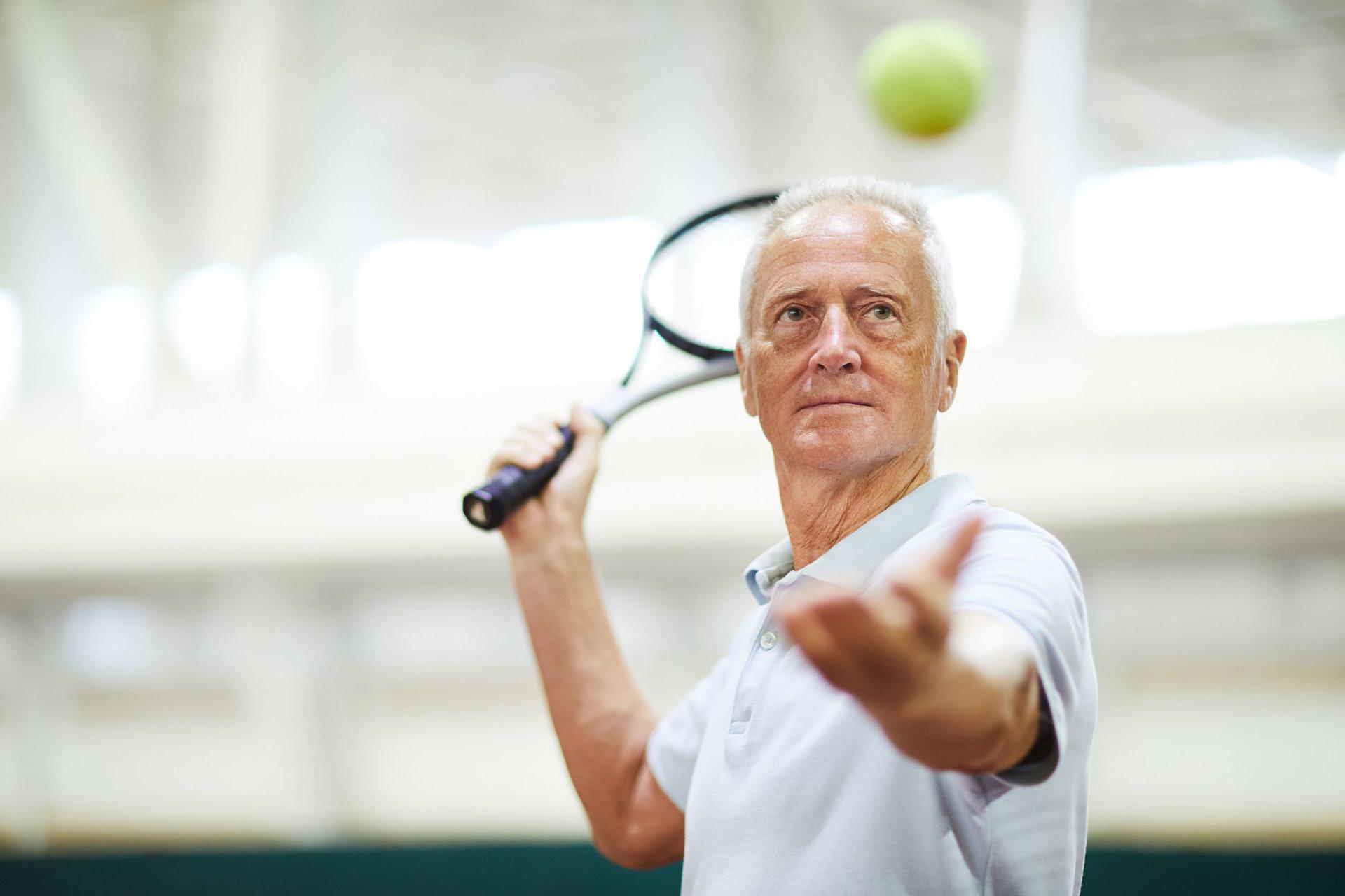 tenisas nuo hipertenzijos