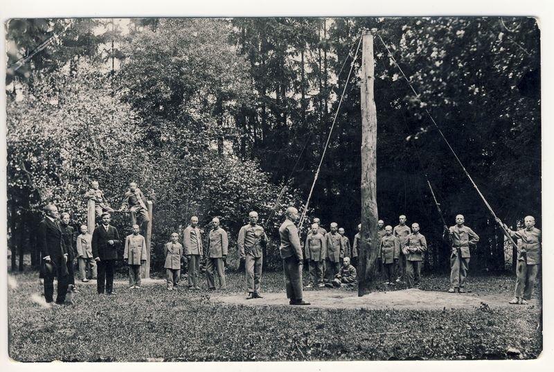 Nežinomas fotografas – Kalnaberžės pataisos namų auklėtiniai, XX a. 4 deš. A Baranausko ir A.Vienuolio-Žukausko memorialinis muziejus