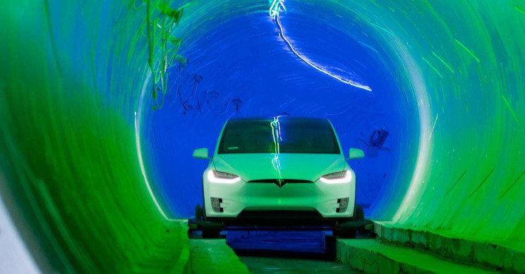 Greitasis požeminis tunelis