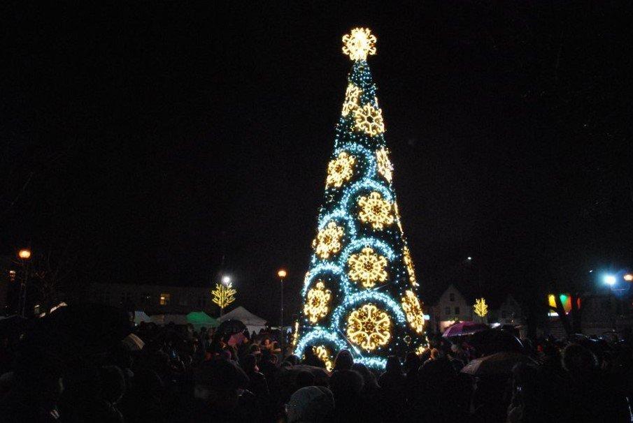 2019 m. Kalėdų eglutė Kretingoje
