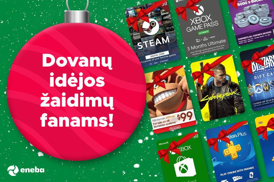 Geriausios dovanų idėjos tikriems žaidimų fanams