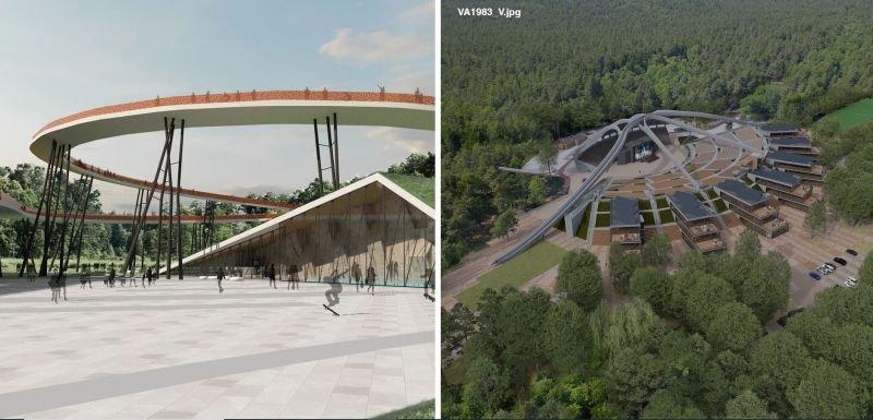 Klaipėdos vasaros estradai siūlomi sprendimai: architektų idėjos