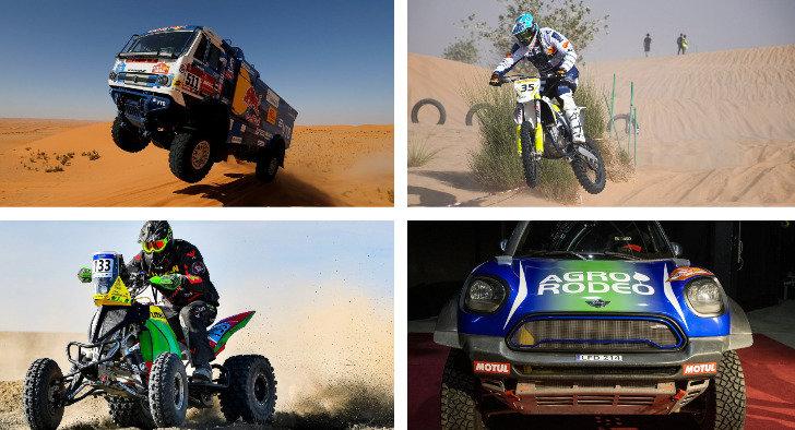 Dakaro ralio klasės