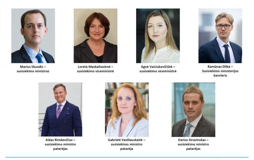 Mariaus Skuodžio komanda