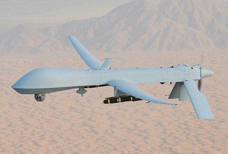 """Iraniečių bepilotis dronas """"Predator MQ-1"""""""
