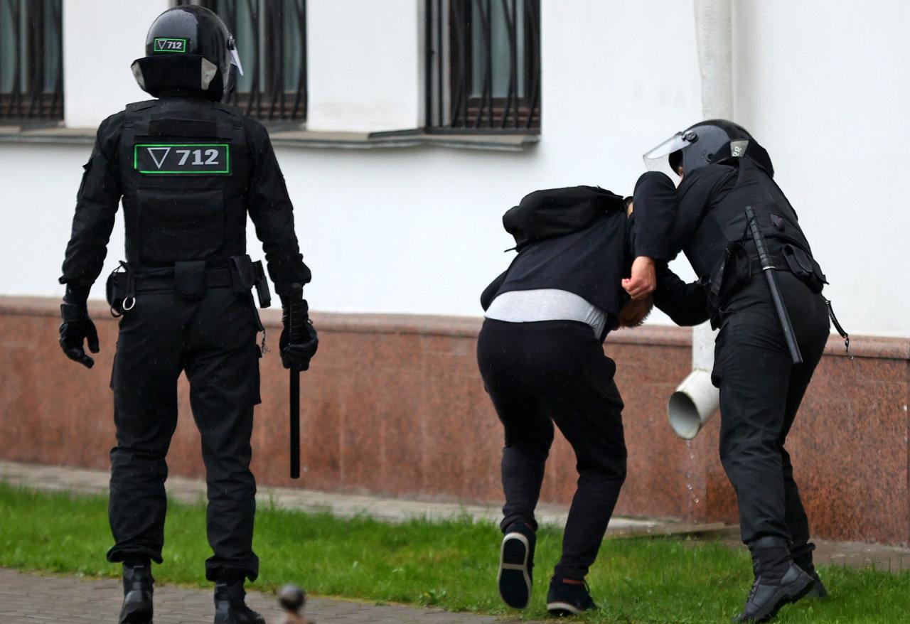 Baltarusijoje iškelta baudžiamoji byla buvusių teisėsaugininkų organizacijos BYPOL nariams