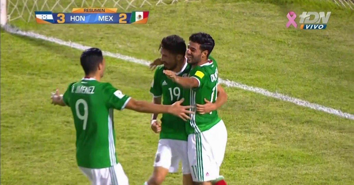 Mexico Vs Honduras 2-3 Hexagonal Final Resumen y Goles  3188f13acbf6d