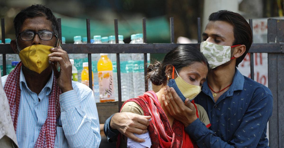 PSO vadovas susirūpinęs dėl COVID-19 bangos apimtos Indijos