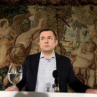 BNS spaudos konferencijoje kalba Ramūnas Vilpišauskas