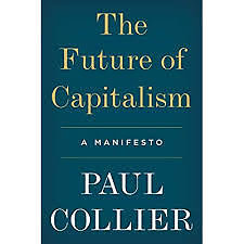 "Knygos viršelis/Knyga ""The Future of Capitalism"""