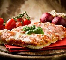 """Klasikinė itališka pica """"Margherita"""""""