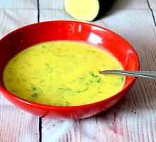 Trinta bulvių sriuba su cukinijomis
