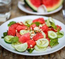 Gaivinančios arbūzų salotos