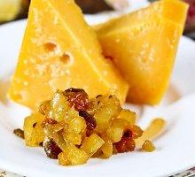 Aštrus ir saldus ananasų marmeladas