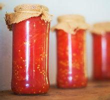 Saldus pomidorų džemas