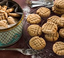 Genialiai paprasti žemės riešutų sviesto sausainiai