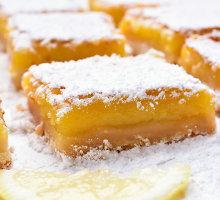 Gaiviai rūgštūs citrininiai kvadratėliai